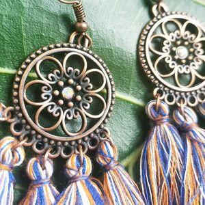 Jewelry - 🆕️Festival Tassel Bohemian Multicolored Earrings